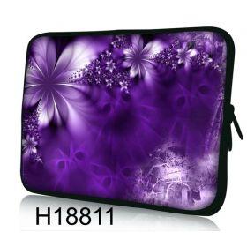"""Huado pouzdro na notebook 17.4"""" Fialové květy"""
