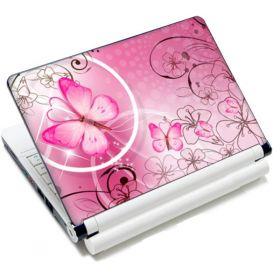"""Huado fólie na notebook 12""""-15,6"""" Motýlek růžový"""
