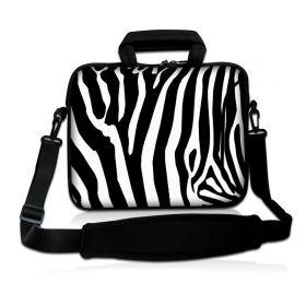 """Huado taška přes rameno 15.6"""" Zebra"""