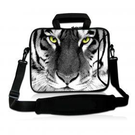 """Huado taška přes rameno 15.6"""" Tygr černobílý"""