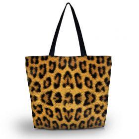 Huado nákupní a plážová taška - Leopard