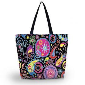 Huado nákupní a plážová taška - Picasso style