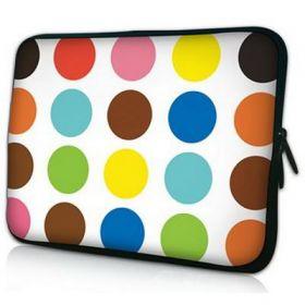 "Huado pouzdro na notebook 17.4"" Polka dots"
