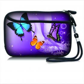 Huado pouzdro na mobil Motýlci ve fialové