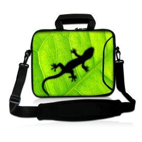 "Huado taška přes rameno 15.6"" Zelený Gekon"