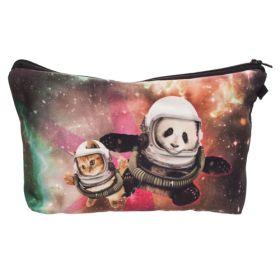 Kosmetická taštička Panda astronaut