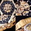 Pánské mechanické hodinky Winner TM340GL