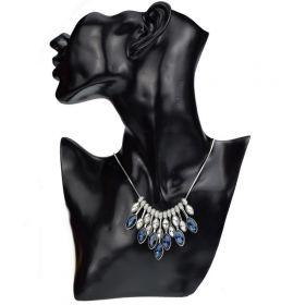 Elegantní choker náhrdelník Blue tears