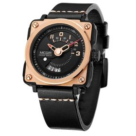 Pánské hodinky MEGIR Silent Square ML2040G