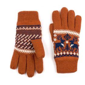 ArtOfPolo Unisex rukavice se soby Oranžové