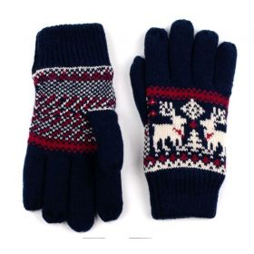 ArtOfPolo Unisex rukavice se soby Modré