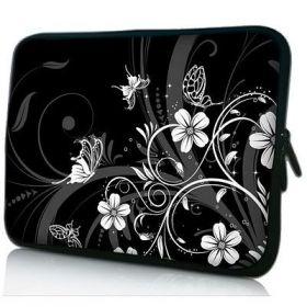 """Huado pouzdro na notebook 17.4"""" Květiny a motýlci"""