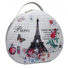BMD kosmetický kufřík Ovál PARIS s krystaly