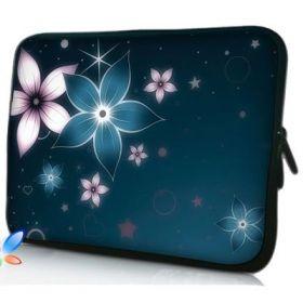 "Huado pouzdro na notebook 17.4"" Modré kvítí"