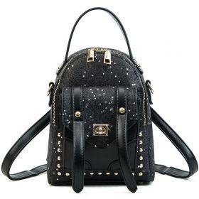 Dámský mini batůžek STAR Černý