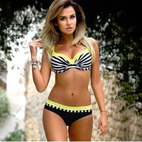 Dvoudílné Push up plavky Marcia Žluté