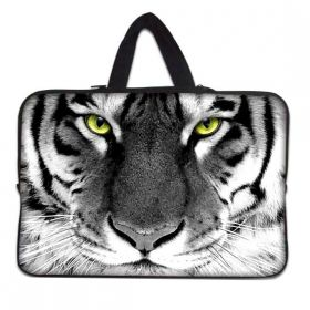 """Huado taška na notebook do 13.3"""" Tygr černobílý"""
