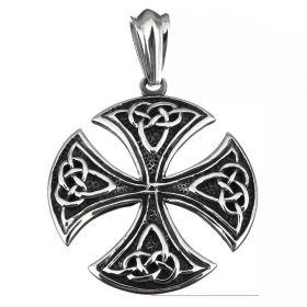 Přívěšek s řetízkem z chirurgické oceli Celtic Ornament