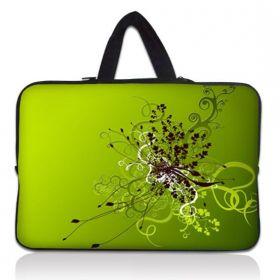 """Huado taška na notebook do 15.6"""" Zelený rozkvět"""