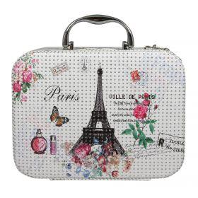 BMD kosmetický kufřík Kostka s krystaly Paříž