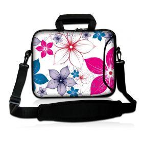 """Huado taška přes rameno 15.6"""" Květiny na jaře"""
