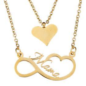Souprava šperků z chirurgické oceli Mama Love