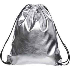 Who cares metalický stříbrný vak