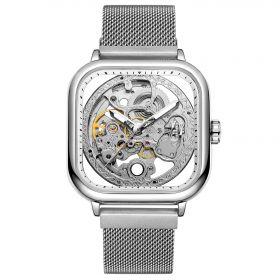 FORSINING pánské hodinky Future FSGM4S1 Stříbrné