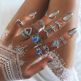 Sada Bohém prstenů 13ks Luvinia