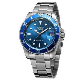 Pánské mechanické hodinky Winner WZ0305 Modré