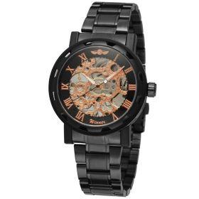 Pánské mechanické hodinky Winner JS12-BLC