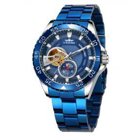 T-Winner pánské automatické hodinky Adventurer M4T8 Modré