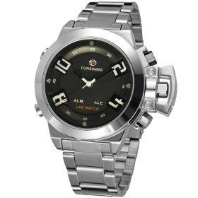 FORSINING pánské duální  LED hodinky Monster Q4S2