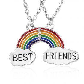 Sada řetízku přátelství Best Friends Rainbow