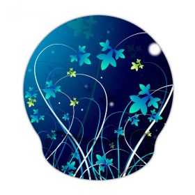 Huado ergonomická podložka pod myš Modré květy