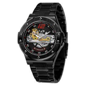 FORSINING pánské automatické hodinky Entrant MXB1 Černé