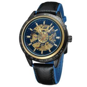 FORSINING pánské automatické hodinky Blue Ghost FSG8042U