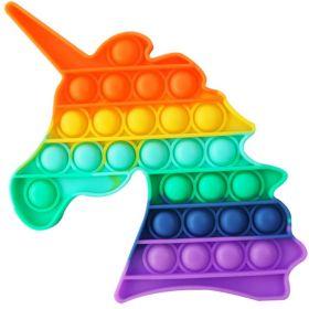 Antistresová hračka POP FIDGET Rainbow Jednorožec