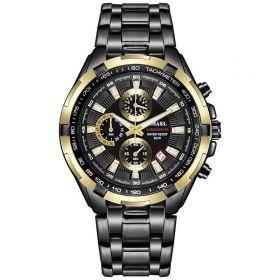 Smael 9063 Pánské analogové hodinky Černé